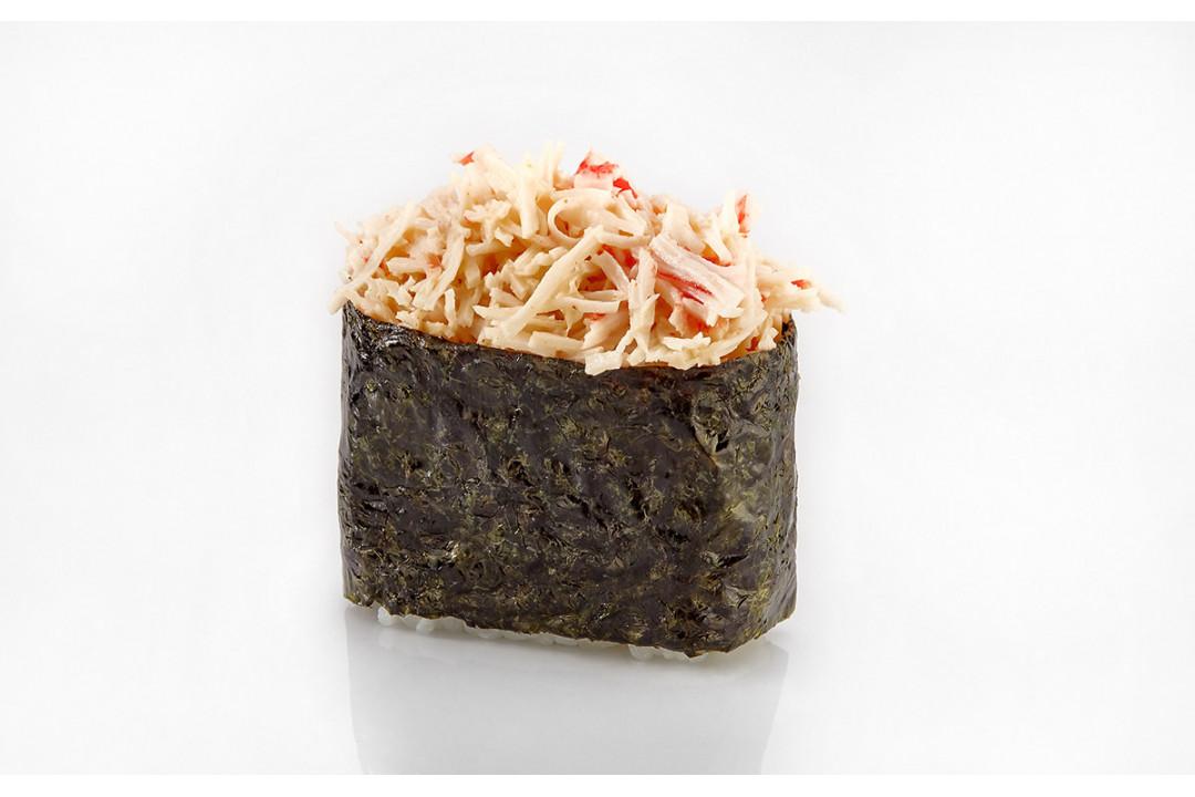 Суши Острый краб (1 шт) 40гр